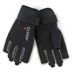 Musto Essential Sailing Glove Short Finger - Black