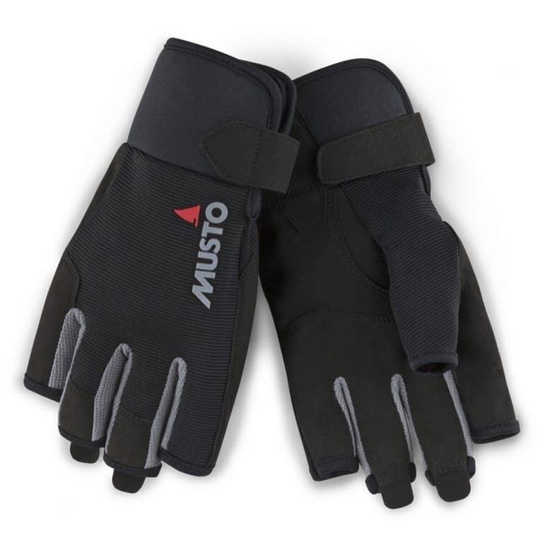 Musto Essential Sailing Glove Short Finger - Black