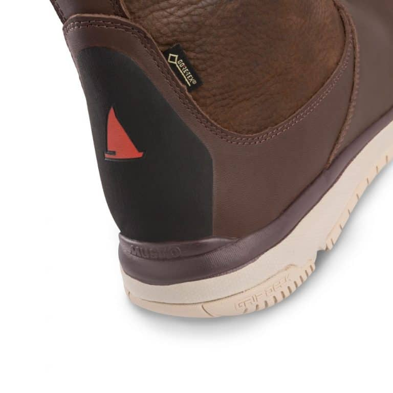 Musto Gore-Tex Leather Sailing Boot - Dark Brown