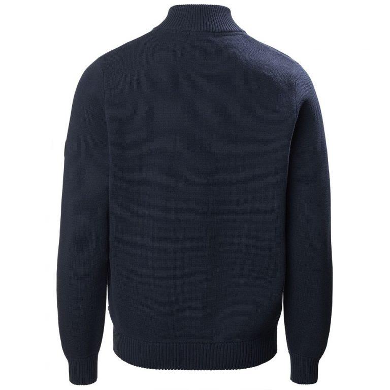 Musto Milano 1/2 Zip Neck Knit - True Navy