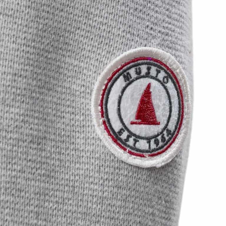 Musto Milano 1/2 Zip Neck Knit - Grey