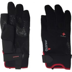 Musto Performance Long Finger Glove - Black