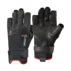 Musto Performance Short Finger Gloves - Black