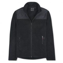 Musto Shearling Polartec Fleece Jacket - Black