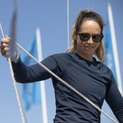 Musto Sunblock Long Sleeve T-Shirt 2.0 For Women - True Navy