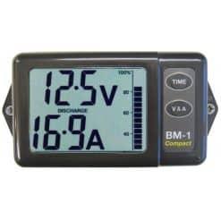 Nasa BM-1 compact battery monitor grey - Image