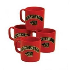 Nauticalia Crew Mugs Red - Image