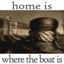 Nauticalia Sailing Cards - Home is