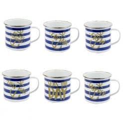Nauticalia Tin Mugs - Image