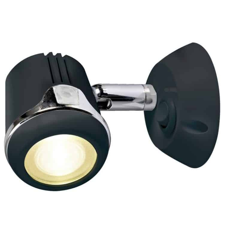 Osculati Articulated Spotlight - Black