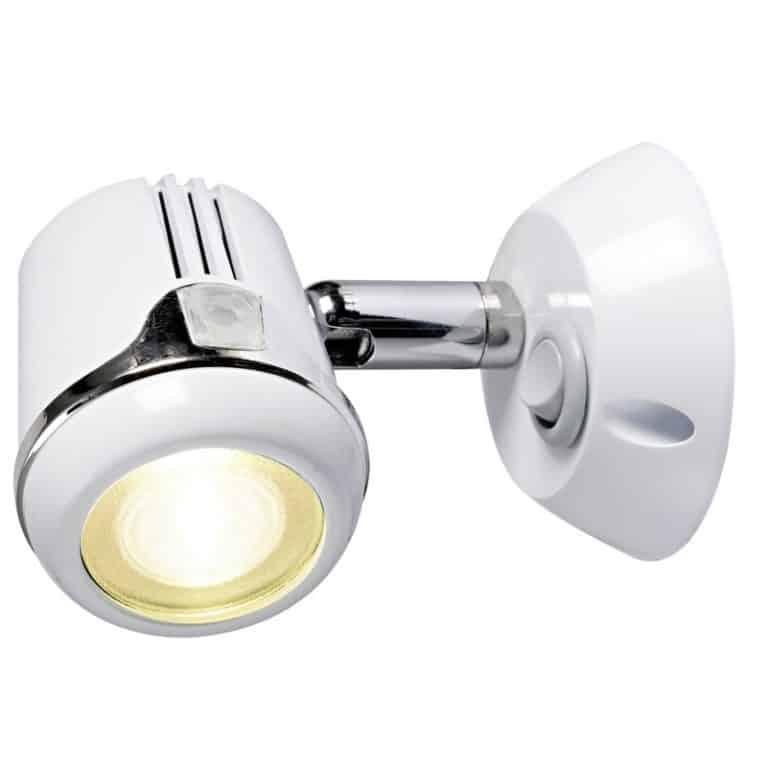 Osculati Articulated Spotlight - White