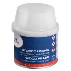 Osculati Filler Bicomponent Wood Dark 150ml - Image
