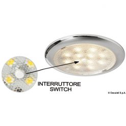 Osculati LED Cabin Light Flush - OSCULATI LED CABIN LIGHT FLUSH