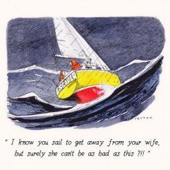 Peyton Cards - I Know You Sail