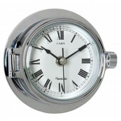 Riviera Chrome Clock - Image