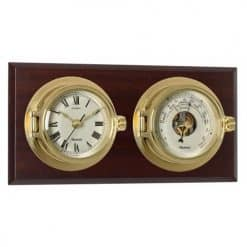 Riviera Clock & Barometer on Board - Image