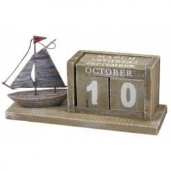Sailboat Calendar - Image