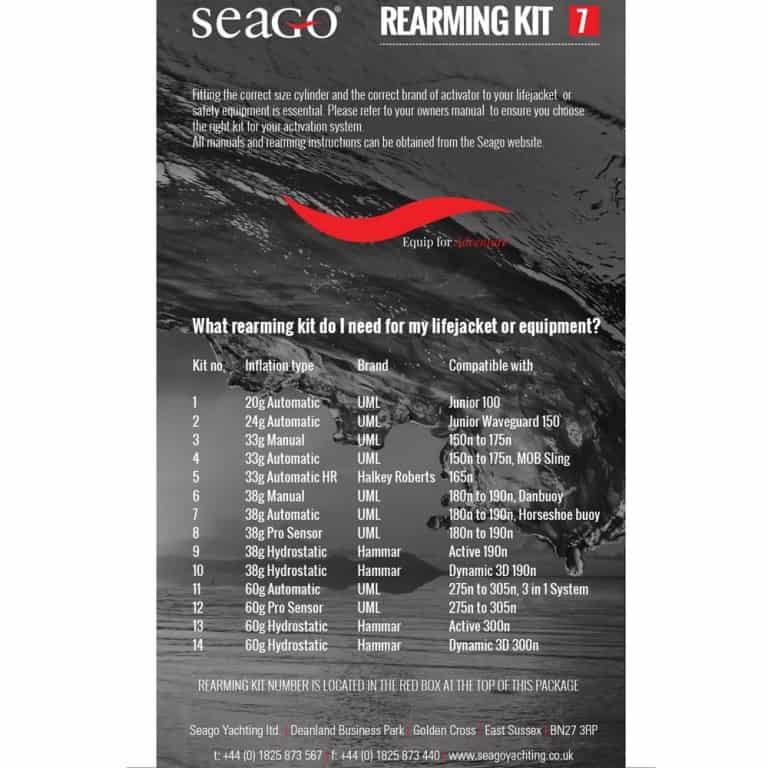 Seago Automatic Re-Arm Kits 38g - Image