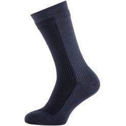 Sealskinz Hiking Mid Mid Socks - Black / Anthracite