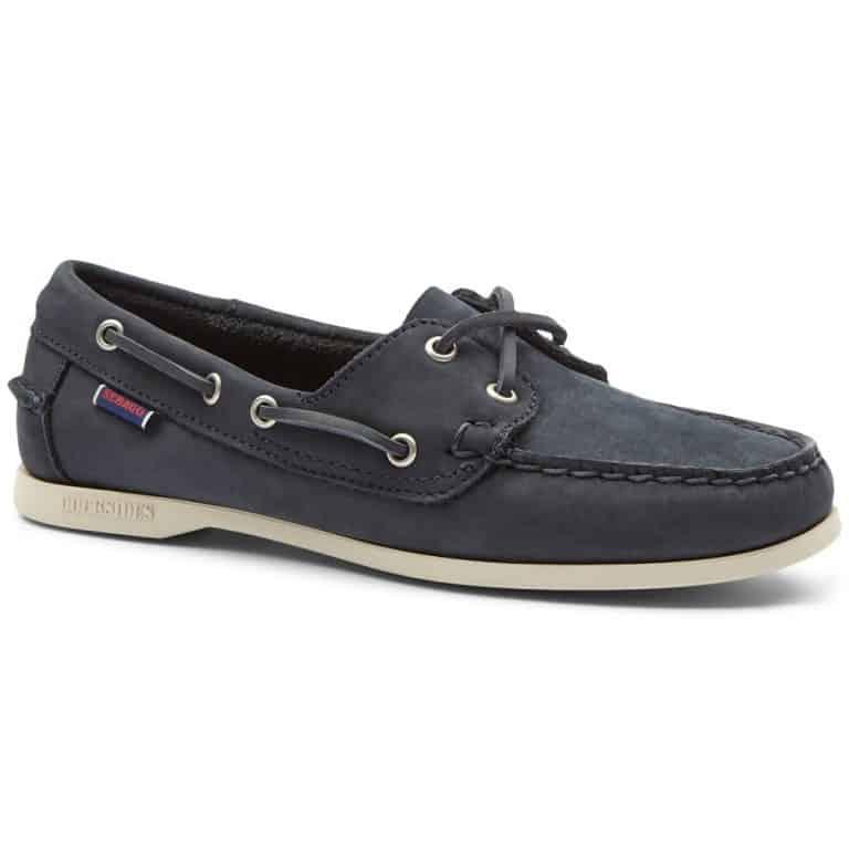 Sebago Jacqueline Ladies Deck Shoes - Blue Navy