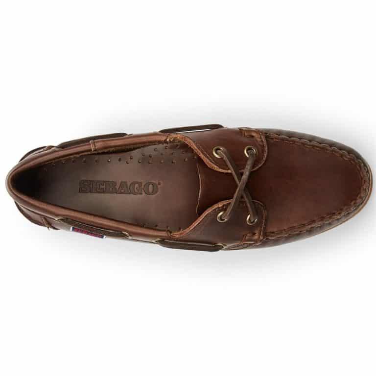 Sebago Jacqueline Ladies Deck Shoes - Brown Gum