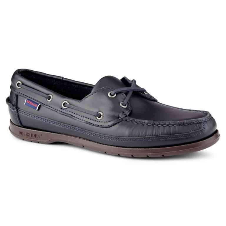 Sebago Schooner Deck Shoe - Blue Navy Gum