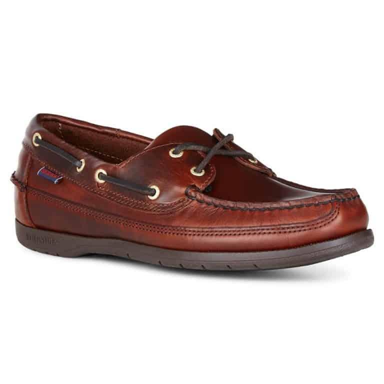 Sebago Schooner Deck Shoe - Brown