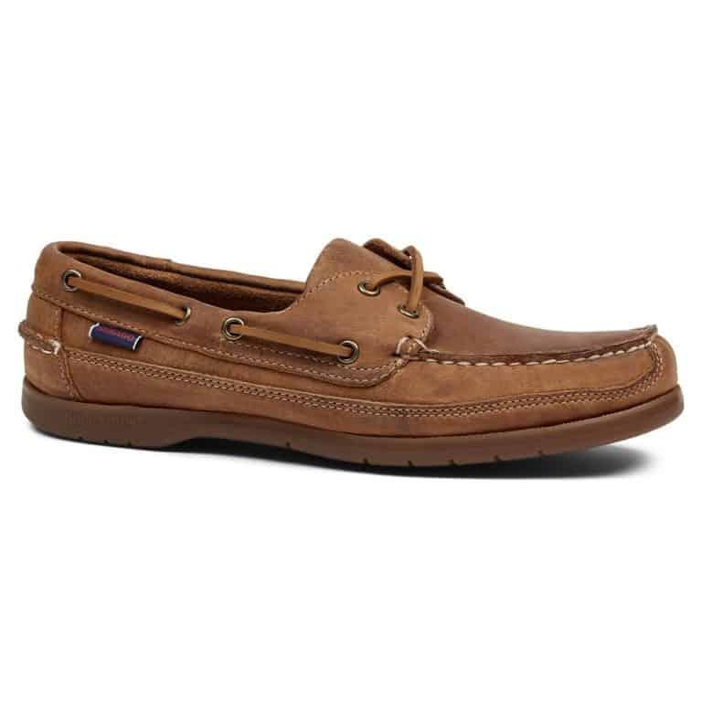 Sebago Schooner Deck Shoe - Brown Tan