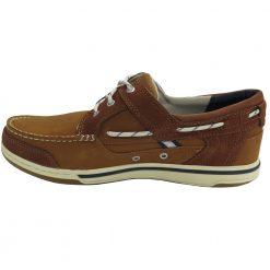 Sebago Triton Three Eye Deck Shoe Special - Brown Cognac