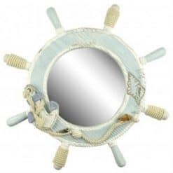 Ship's Wheel Mirror - Image