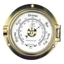 Solid Brass Case Barometers - Image