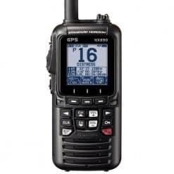 Standard Horizon HX890E DSC Handheld VHF Radio - Black