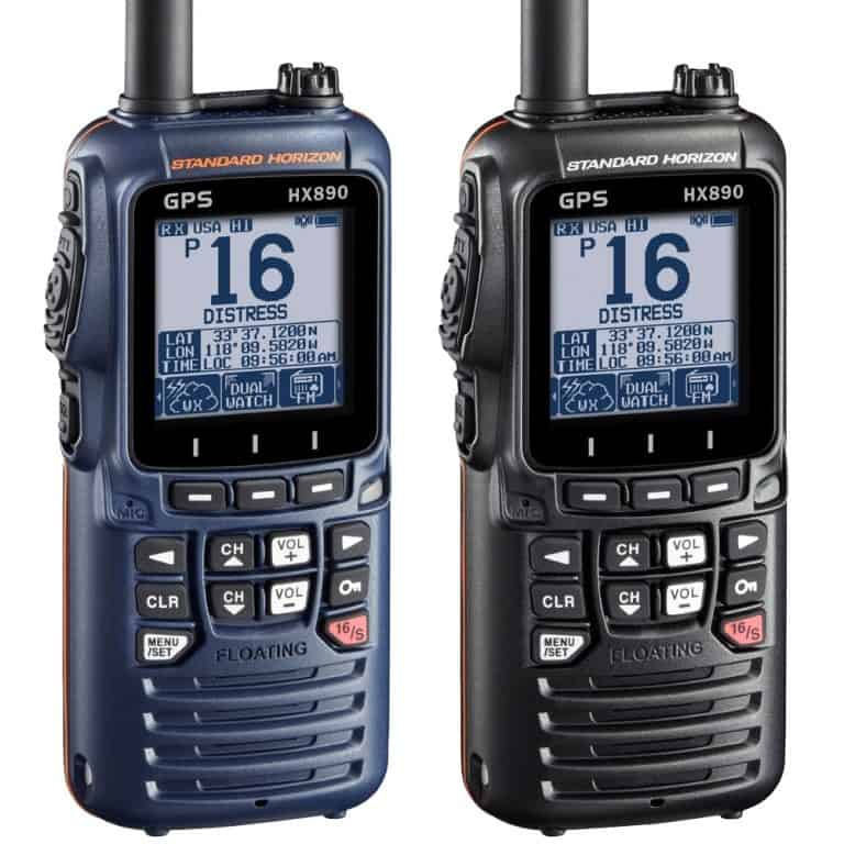 Standard Horizon HX890E DSC Handheld VHF Radio - Image