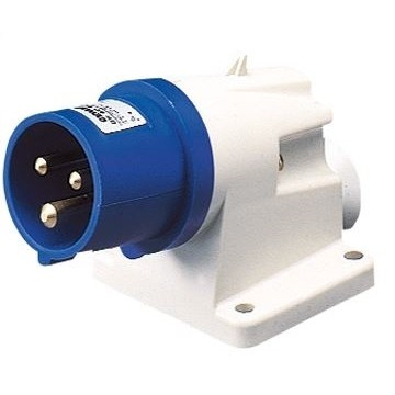 Surface Mounted Mains Inlet - Male - Image
