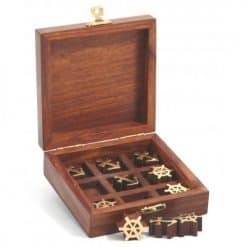 Tic Tac Toe Wooden Game - Image