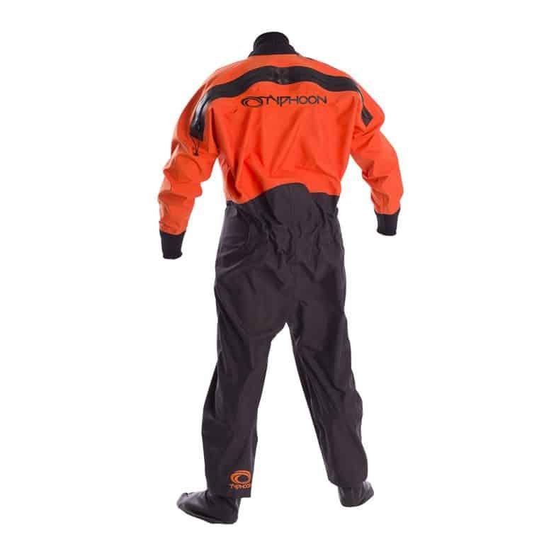 Typhoon Rookie Junior Dry Suit - Black/Orange