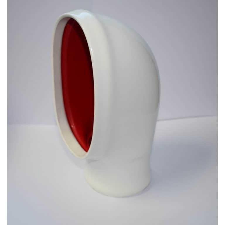 Ventilator 70mm High Pvc - SIDE RED