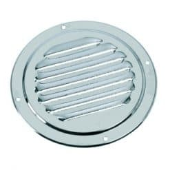 Ventilator Louvre Round Vent Electro Polished - Image