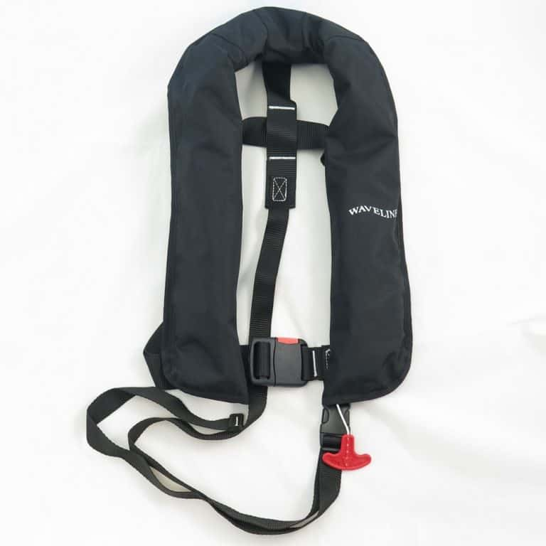 Waveline 165N ISO Lifejacket - Black No Harness