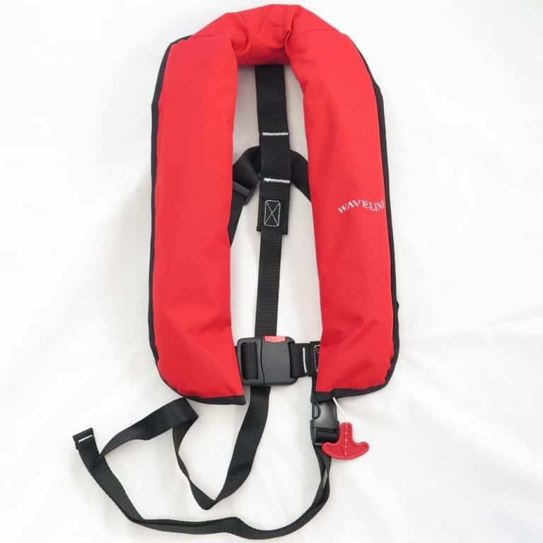 Waveline 165N ISO Lifejacket - Red No Harness