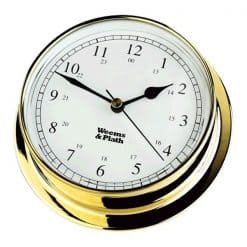 Weems & Plath Endurance 125 Quartz Clock Brass - Image