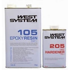 West System Epoxy B Pack (6kg) Fast hardener - New Image