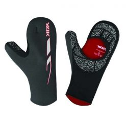 Yak Open Palm Mitt - Black