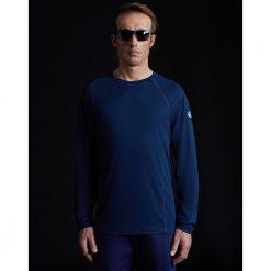 North Sails Tech T Shirt Long Sleeve - Marine Blue