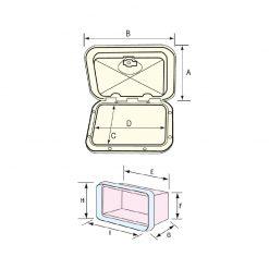 Nuova Rade Storage Hatch - Image