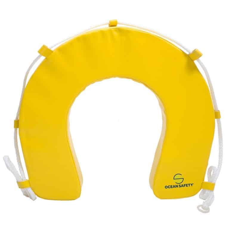 Ocean Safety Horseshoe only Lifebuoy Yellow - Image