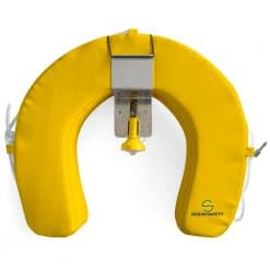 Ocean Safety Horseshoe Set Compact - Yellow