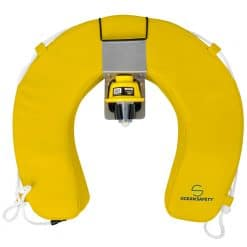 Ocean Safety Horseshoe Set with Aquaspec Light - Yellow