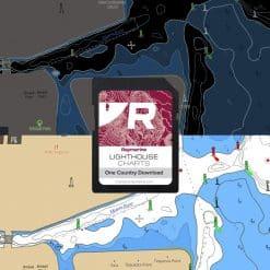 Raymarine Lighthouse Chart Download Card - Image