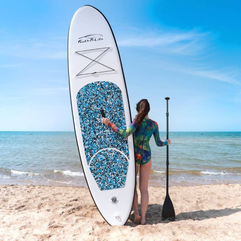Feath-R-Lite SUP Inflatable Stand Up Paddle Board 10FT - Blue